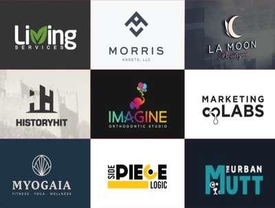 Design a professional minimalist business logo