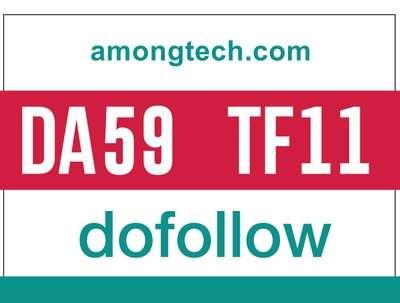 Guest post on amongtech- amongtech.com - DoFollow