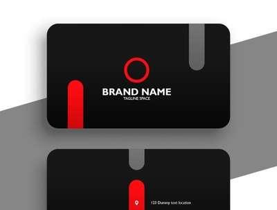Design a professional, custom made business card