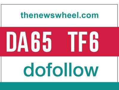 Guest post on thenewswheel- thenewswheel.com - DoFollow