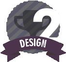 #2 in Design