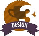 #3 in Design