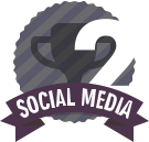#2 in Social Media