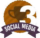 #3 in Social Media