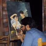 Artist Moustafa